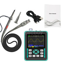 New Digital 24 Lcd Handheld Oscilloscope Dso1511e 120mhz 500mss Arm Fpga Adc