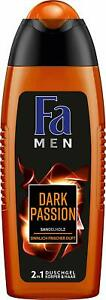 Fa Men 2in1 Duschgel Dark Passion aus Sandelholz 250ml 6er Pack
