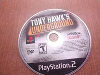 Sony PlayStation 2 PS2 Disc Only Tested Tony Hawk's Underground Ships Fast