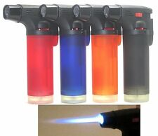 50 Pack Eagle Butane Torch Lighter Gun Windproof Adjustable Jet Flame Refillable