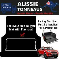 Rubber Ute Mat for Holden Colorado RG Dual Cab - 2012- Current (Suits Tub Liner)