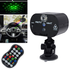 360 ° Rotating  USB Car Roof Lamp Night Light RGB Color Remote Control Switch