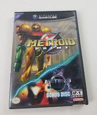 METROID PRIME NINTENDO GAMECUBE WITH METROID PRIME: ECHOS BONUS DISC! TESTED