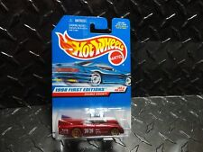 Hot Wheels #684 Red Double Vision w/Gold Lace Wheels