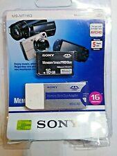 Sony 16GB Memory Stick PRO Duo MagicGate Mark2 MS-MT16G w/ MSAC-M2 Adapter - New
