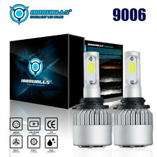 9006 HB4 2000W 300000LM CREE LED Headlight High/Low Beam 6000K White 2 Bulbs Kit