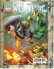 Death of Wolverine #1 Alex Ross Variant RARE MEXICO VARIANT marvel comics
