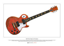 Bob Marley's Gibson Les Paul Special Limited Edition Fine Art Print A3 size