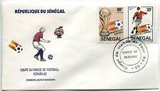 FDC SENEGAL  DAKAR   20.12.1982   THEME  COUPE DU MONDE DE FOOTBALL ESPAGNE 82