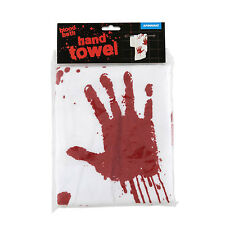 Bloodbath Hand Towel - Blood Bath - Scary Horror Movie Bloody Handprints