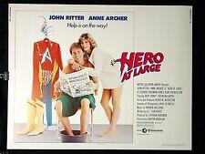 "HERO AT LARGE    Original Half Sheet 22"" X 28"" Theatre Poster"