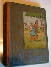 How Peter Rabbit Went to Sea 1917 Altemus wee early edition Book