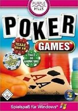 POKER GAMES - PC CD-ROM - NEU & SOFORT