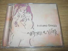 INDIANA GREGG - WOMAN AT WORK (CD ALBUM) 13 TRACKS NEW & SEALED