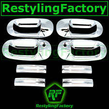 03-12 Lincon Navigator Triple Chrome plated 4 Door Handle with PSG Keyhole Cover
