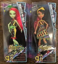 Monster High ELECTRIFIED Venus McFlytrap and Cleo de Nile Dolls - Exclusive NEW
