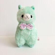 AMUSE Mokomoko Ribbon Alpacasso Mint Girl (Standard 16cm) Alpaca Arpakasso Plush
