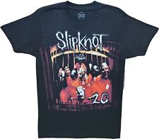 New Men's Slipknot NMT 20 Years Heavy Metal Band Throwback Black T-Shirt Tee