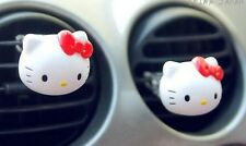 Hello Kitty car perfume head red  red air fresher fragrance gift home boat cute