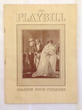 "Playbill for Martin Beck Theatre:  ""My Sister Eileen"", 10/4/1942 - Shirley Booth"