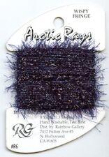 Rainbow Gallery Arctic Rays #Ar6 Royal Purple Sparkly Wispy Fringe Yarn Thread