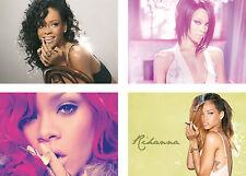 Rihanna Singer Model Movie Star Art Poster Print Set - A4 A3 A2 Sets Available