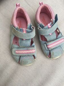 Superfit Sandalen Größe 21 Blau Rosa