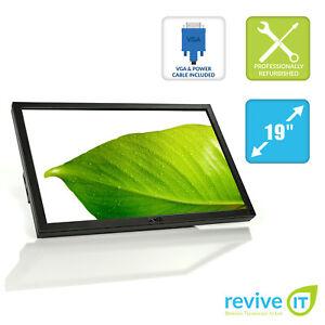 """Dell Professional P1911 19"""" LCD 1440x900 60Hz DVI VGA Monitor Grade B (No Stand)"""