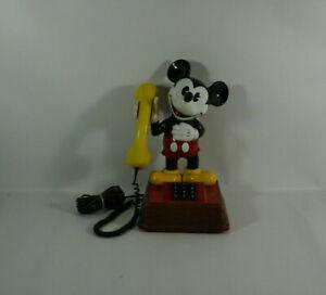 Vintage Mickey Mouse Telefon DFe Ap 332 guter Zustand Micky Maus ca. 40 cm