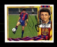 Popescu FC Barcelona 1995-96 sammelbild ORIGINALE FIRMATO + a 157880