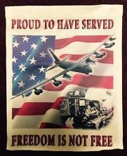 "B-52G Stratofortress Gunner - ""Proud to have Served"" Garden Flag"