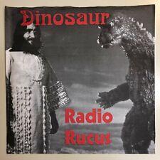 "DINOSAUR JR RADIO RUCUS 7"" VINYL - CHUNKS / FREAK SCENE 1990 RABIES RESOLUTIONS"