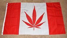 TRAILER PARK BOYS SIGNED 3X5 CANADA FLAG TPB RICKY BUBBLES JULIAN WEED MARIJUANA