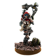 Warhammer 40K: Mechanic Adept Demale Tech Priest with Servo Arm MKV - Wargames E