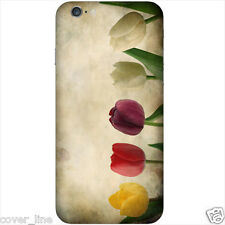 "COVER PER IPHONE 6 4,7"" IN PLASTICA RIGIDA DESIGN MODELLO  FIORE TULIPANO"