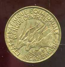 AFRIQUE EQUATORIALE  10  francs 1967  ( bis )