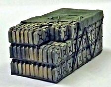 Milicast ACC92/3 1/76 Resin WWII German 20Ltr. Fuel Can set 3 for Opel Blitz GS