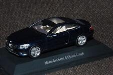 Kyosho Mercedes-Benz S-Klasse Coupé C217 in cavansitblau metallic M1:43 PC