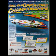 2001 Zipp Express Sarasota Offshore Racing 18x24 Poster Sold by the Creator