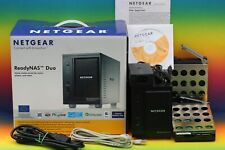 Netgear ReadyNAS Duo RND2000 NAS Server mit 2x 1TB Seagate Festplatte Video OVP