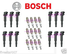 12 OEm BOSCH Ignition Coil Pack Set +12 Spark Plug kit for BMW 03-08 760i 760Li
