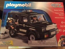 Playmobil 5674 City Action Tactical Unit  Police Car WORLDWIDE DELIVERY