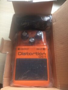 Boss DS1 Distortion Guitar Pedal Design Mouse With USB Connection BNIB