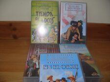Los Hermanos Marx  5 VHS Videos en espanol