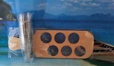 WKD SHOT GLASS PADDLE SET 25 SHOT PLUS 6 HOLDER PADDLE