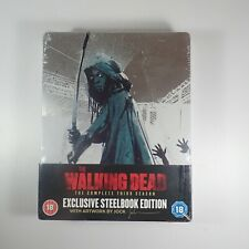 The Walking Dead Season 3 Limited Edition Blu-ray Steelbook Brand New and Sealed