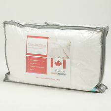 Kensingtons 100% Pure 500 T/C Canadian Goose Down Silk Cover 2 x Pillows 1100G