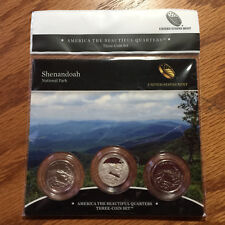 2014 Shenandoah N Park Three-Coin 3-Coin Set America Mint Set P88 ATB Quarter