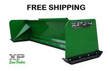 8' Xp24 John Deere snow pusher box Free Shipping - Rtr
