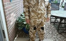 More details for british army gulf war desert camouflage nbc suit. nuclear chemical protection.